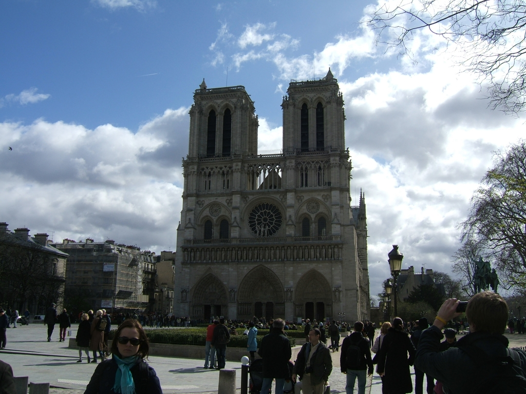 Работы собора парижской богоматери