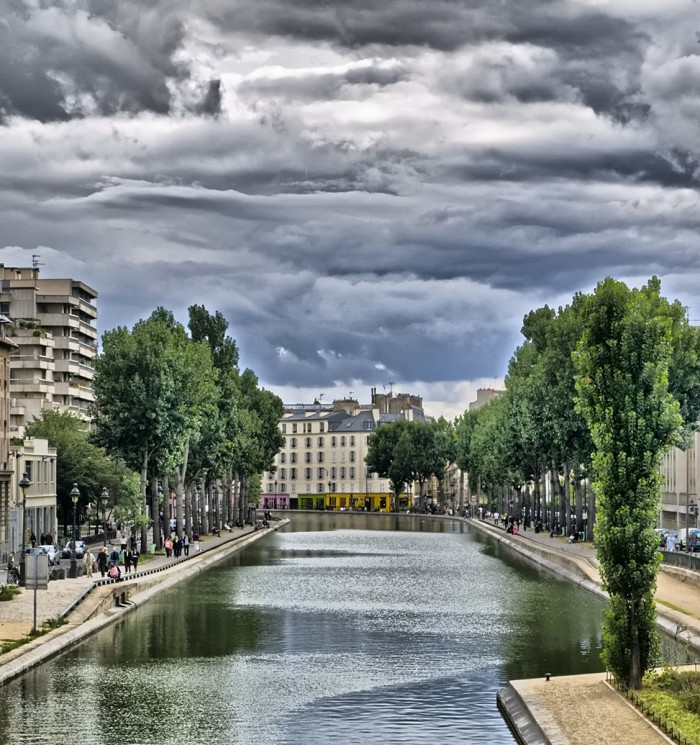 Канал Сен-Мартен в Париже (Canal Saint-MartinBy stephanemartin@Flickr)