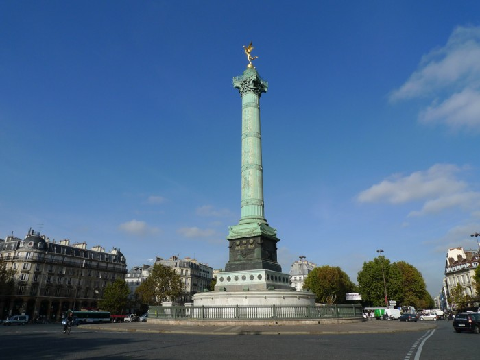 Июльская колонна (colonne de Juillet, place de la Bastille | jean-louis zimmermann | Flickr)