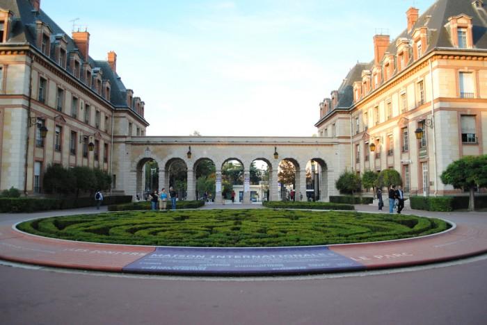 Городок париж cité universitaire demiante flickr