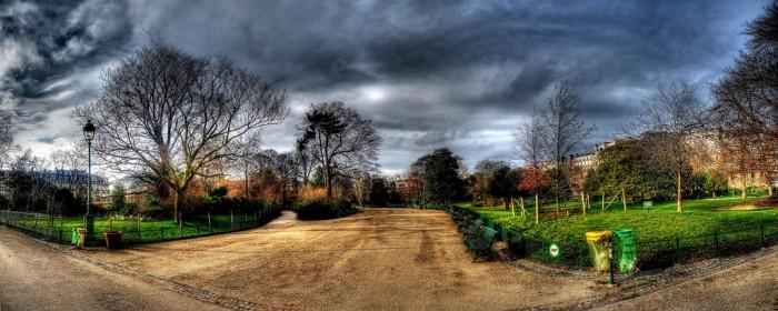 Парк Монсо (Morning walk in Parc Monceau | alainlm | Flickr)