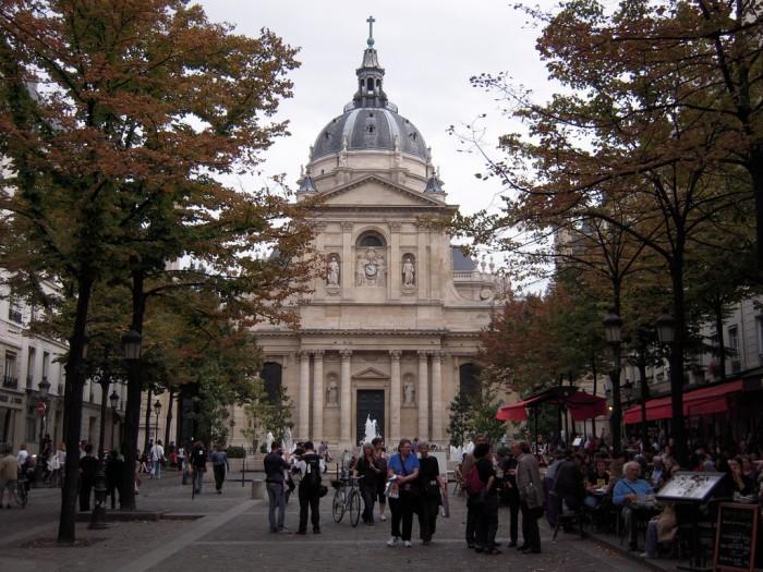 5 округ, территория Сорбонны (LA SORBONNE | marsupilami92 | Flickr)