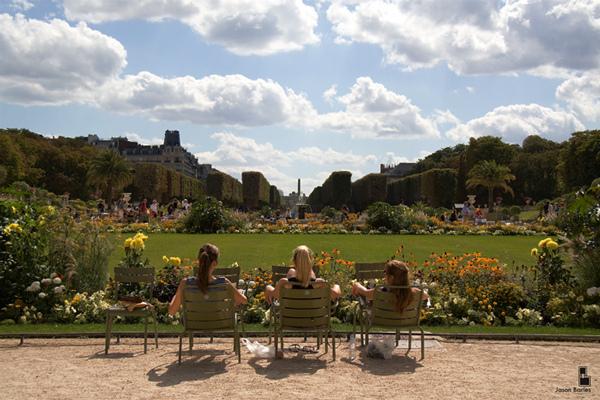 В Люксембургском саду (The Life | Jason Barles | Flickr)