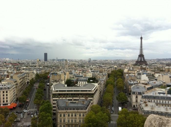 Сентябрь в Париже по-летнему приветлив (Paris 2011 | DaveOnFlickr)