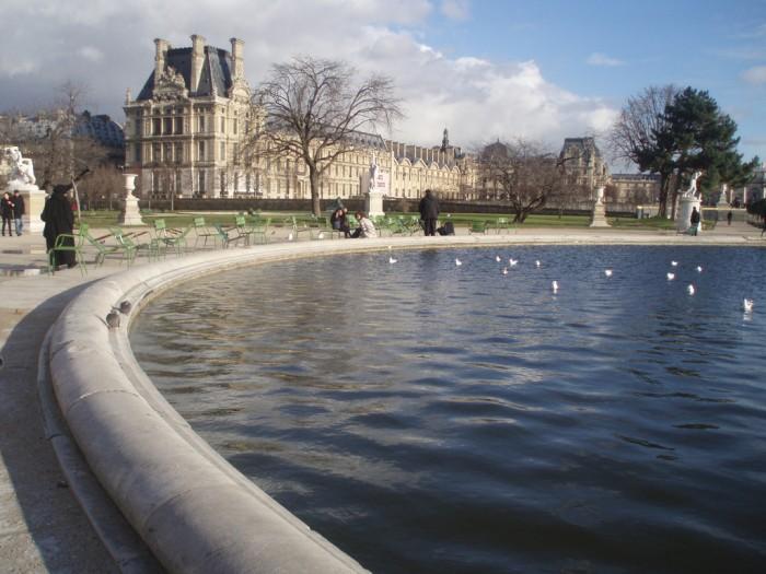 Январь в Париже - холодный, зато ясный (Paris: January 2009 | Hannah & Noah | Flickr)