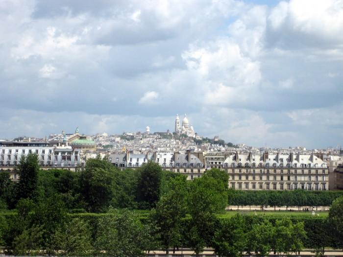 Вид на Монмартр