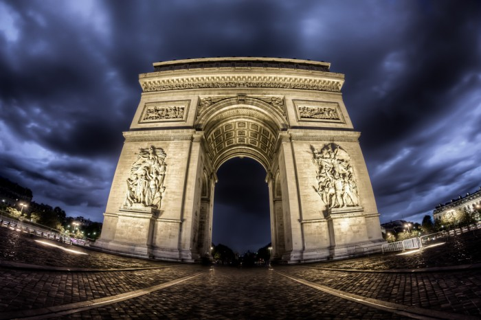 Arc de Triomphe By Mark Carline on flickr.com
