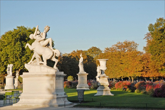Le jardin des Tuileries (Paris) By dalbera@Flickr