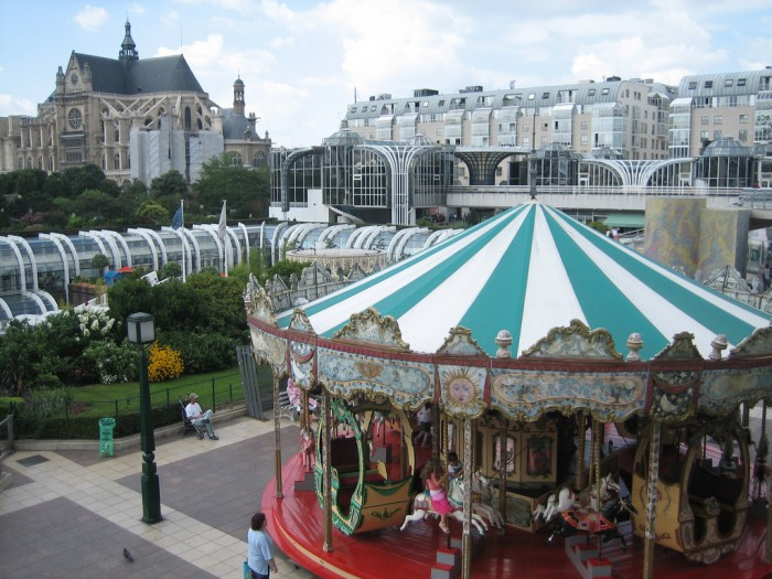 Les Halles By sheilaellen @ Flickr